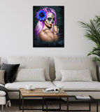 Canvas Violet  Canvas  By Daveed Benito Canvas Art