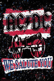 AC/DC We Salute You Stripe Paper Poster