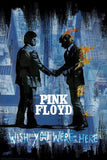 Pink Floyd Wish You Were Here BLK Paper Poster