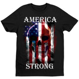 America Strong T-Shirt by Daveed Benito