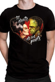 Frank and Bride T-Shirt by Big Chris
