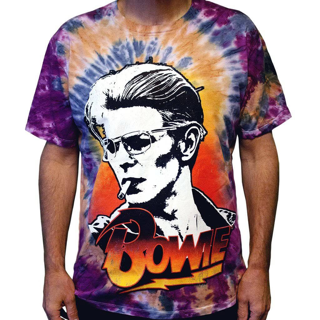 David Bowie Smokin Tie Dye T-Shirt