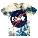 David Bowie Space Logo Tie Dye T-Shirt