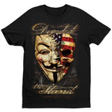 Divided We Stand T-Shirt by Daveed Benito