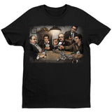 Gangsters Playing Poker T-Shirt by Big Chris