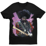 Jimi Hendrix T-Shirt by Stephen Fishwick