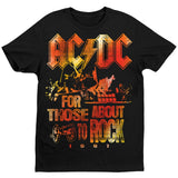 AC/DC For Those About to Rock T-Shirt Women's