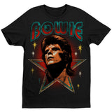 David Bowie with Stars Women's T-Shirt
