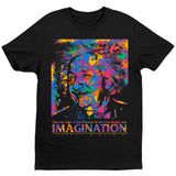 Einstein T-Shirt Imagination Quote Women's