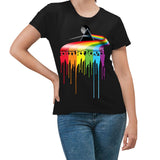 Pink Floyd Dripping Dark Side  Women's T-Shirt