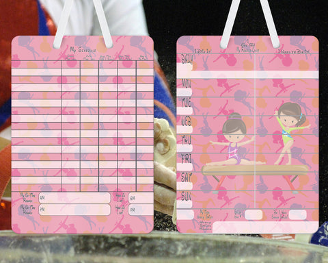 2 in 1 Chore Reward Behavior & Schedule Board