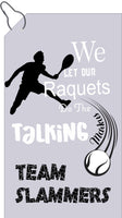Customized Tennis Towel - Personalized Tennis Towel - Custom Slogan or Team Name - Name + Team Colors - Tennis Gift for Men - USTA Team Tenn