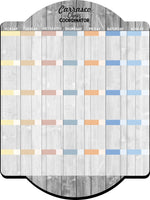 Chaos Coordinator Family Calendar and Icon Clings - Personalized Dry Erase