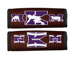 Personalized Custom Sports Bag Handle Wrap- Football