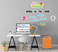 Sight Words Set - Wall or Mirror Decal Set