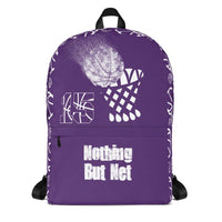 Personalized Basketball Backpack (Name, Custom Saying and Colors)