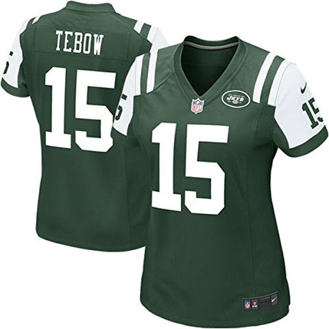 Tim Tebow Nike New York Jets #15 Women's Jersey (Medium)