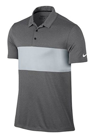 Nike Men's Breathe Color Block Golf Polo (Medium)