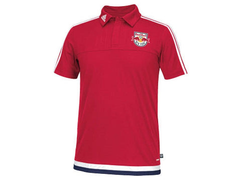 Adidas New York Red Bulls MLS Men's Game Wear Polo Shirt (Medium)
