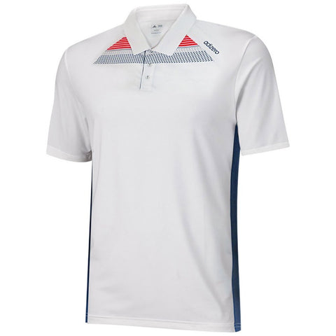 Adidas Graphic Print Stripe Golf Polo (Medium)
