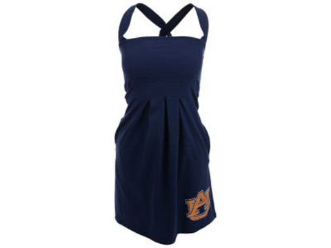 Chicka-d Auburn Tigers NCAA Women's Pleated Dress With Pockets