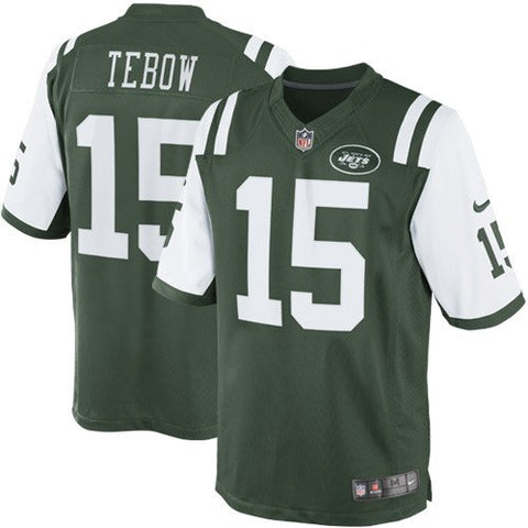 Tim Tebow Nike New York Jets #15 Youth Jersey (Large)