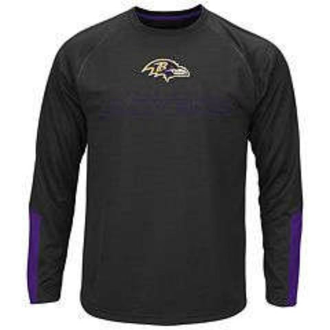Baltimore Ravens Cutting Through Majestic Tee (Medium)