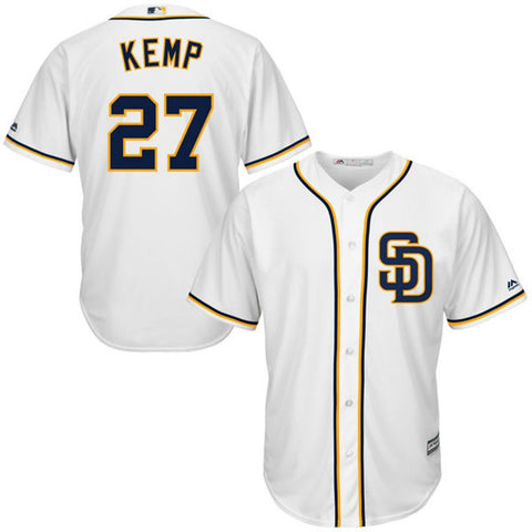 San Diego Padres Youth Matt Kemp MLB Cool Base Jersey (Small)
