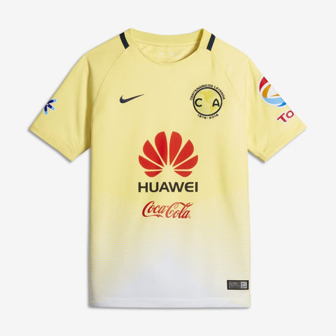 Club America Nike Youth Stadium Jersey (Medium)