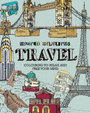 Inspired Colouring Travel: Colouring to Relax and Free Your Mind