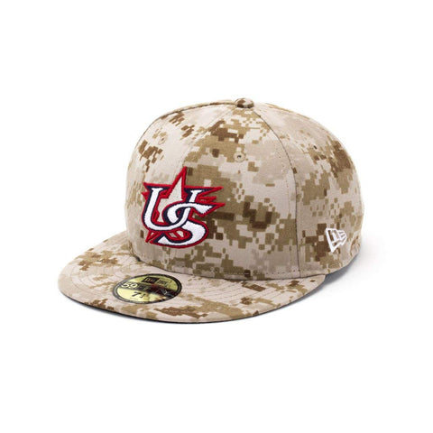 New Era USA Baseball Military Camo 59FIFTY Hat