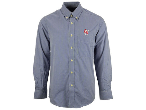 Antigua Los Angeles Clippers NBA Men's Focus Long Sleeve Woven Shirt (Small)