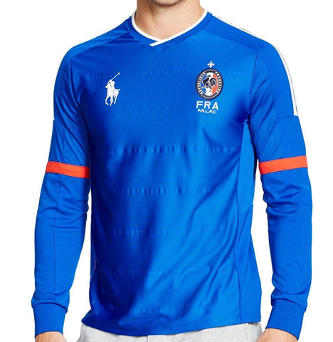 Ralph Lauren Men's Performance Long Sleeve Soccer Shirt