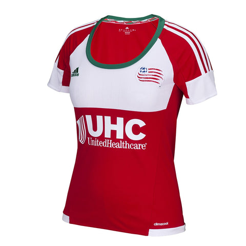 New England Revolution Women's MLS Team Stadium Jersey (Medium)