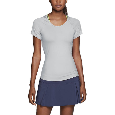 Nike Women's Dri-Fit Advantage Court Tennis Top (Large)