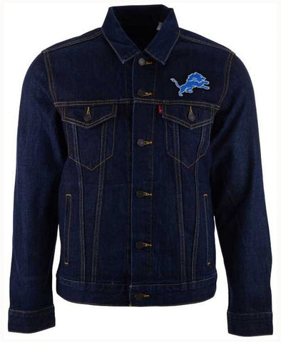 Levi's Detroit Lions Trucker Jacket (XL)