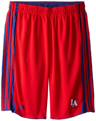 Los Angeles Clippers Adidas Three Stripe NBA Shorts