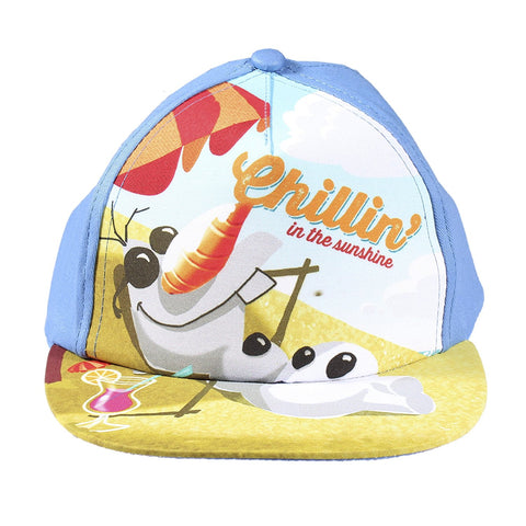 "Frozen Olaf ""Chilling in the Sunshine"" Baseball Cap"