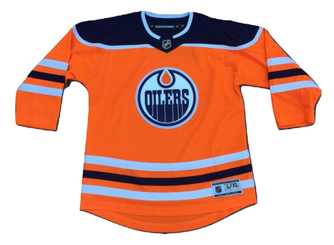 Edmonton Oilers Women's Alternate Premier Jersey (L/XL)