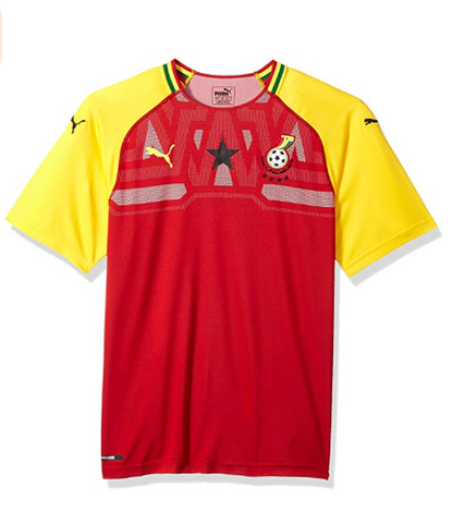 Ghana Men's Puma Home Stadium Jersey (Medium)