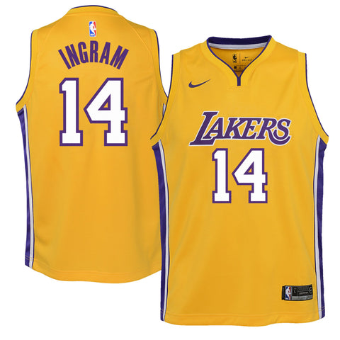 Brandon Ingram Los Angeles Lakers Stadium Youth Jersey (Medium)