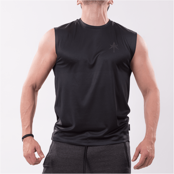 AT Men's performance Top black