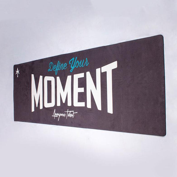 Define Your Moment Black Training Mat