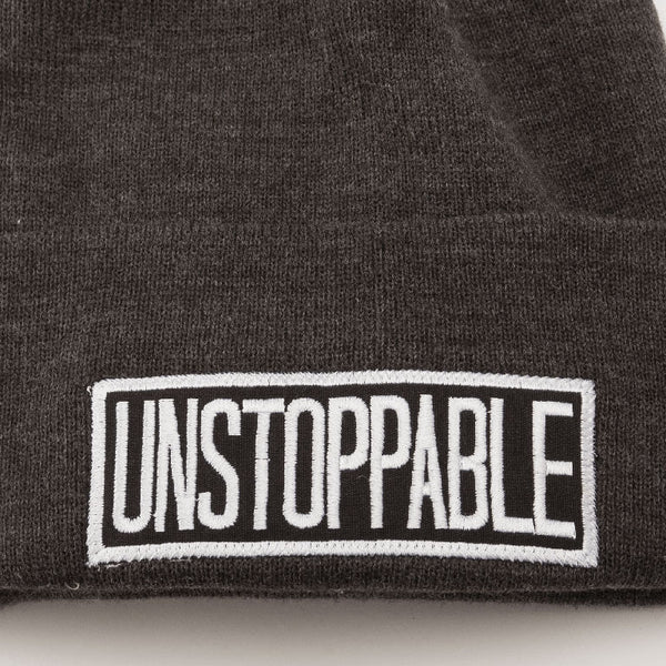 UNSTOPPABLE Cuffed Knit Beanie