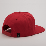 BEASTIN 5 Panel Snap Back Red