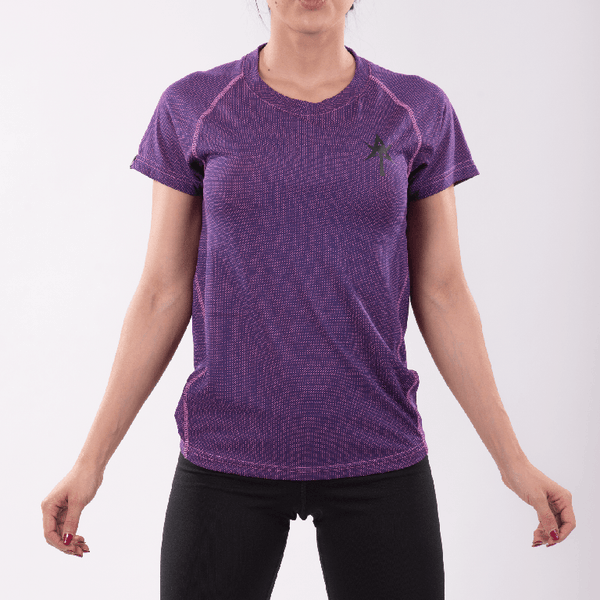 AT Women Performance Shirt Purple