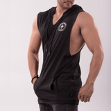 AT CIRCLE Sleeveless Hoodie