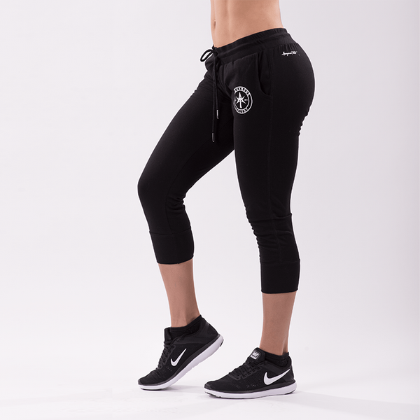 AT CIRCLE TRAINING JOGGER pants black