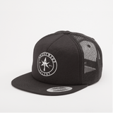 AT CIRCLE Foam Trucker Black
