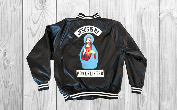 JESUS IS MY POWERLIFTER